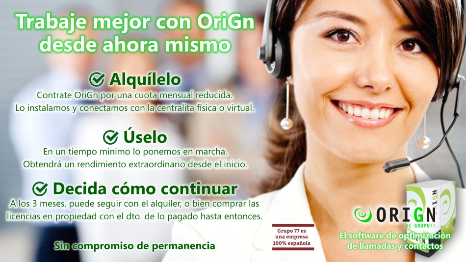 Software call center en alquiler